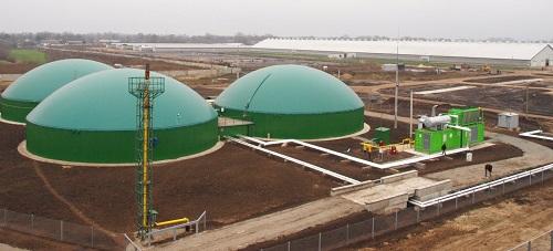 Биогазовая промышленная установка
