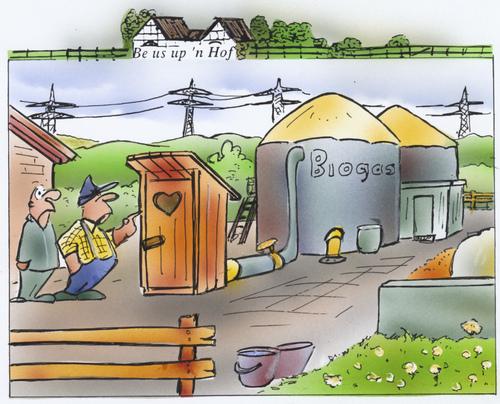 Биогаз из туалета