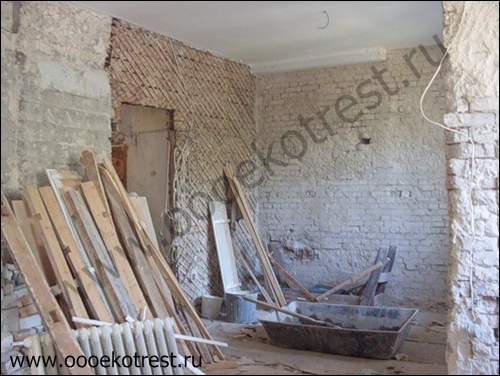 Ручной демонтаж квартиры