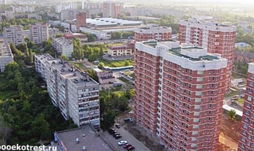 Новый микрарайон в Щербинке