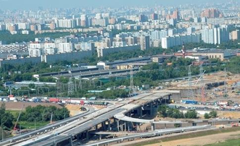 Вид города Люберцы