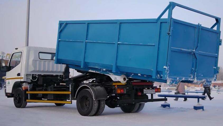 Цена на вывоз мусора Исузу