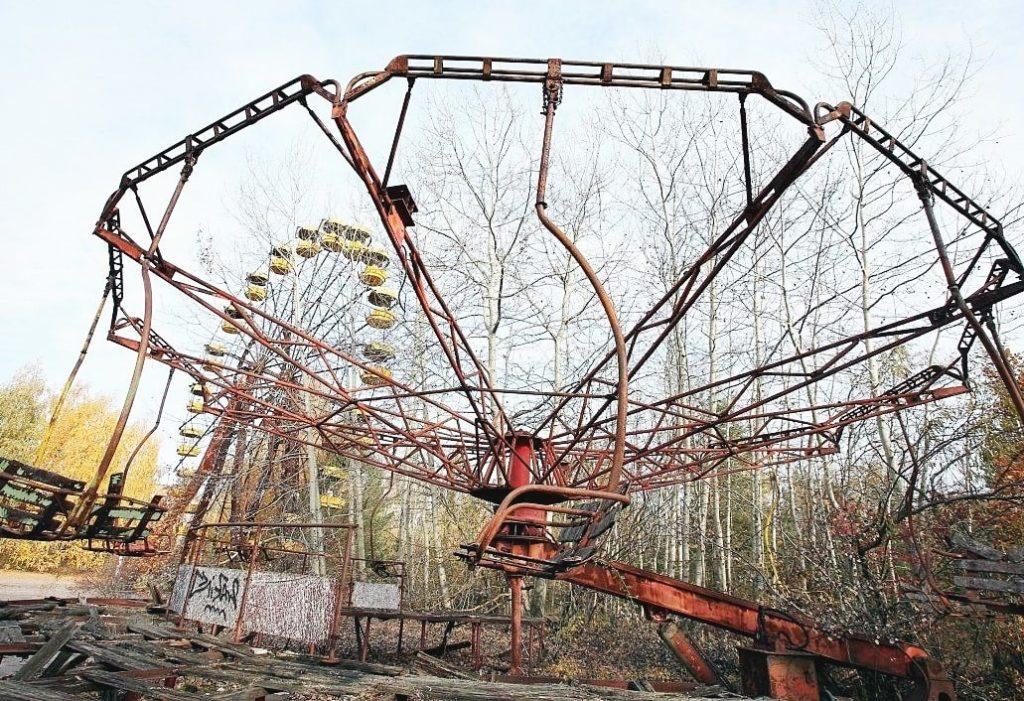 Парк развлечений в Чернобыле