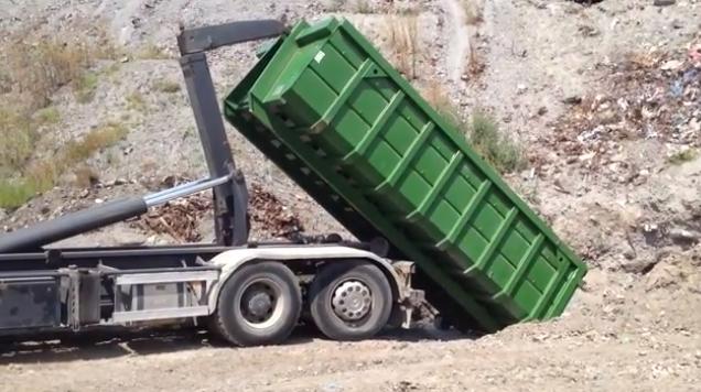 Вывоз контейнера 20 м3