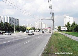 Вывоз мусора на Варшавском шоссе