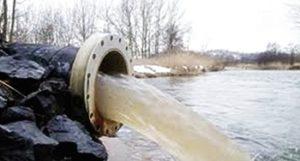 Вот такая утилизация промышленных отходов в реку