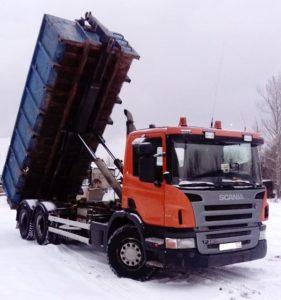 Контейнер под вывоз снега 20 м3