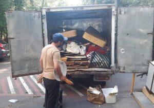 Вывоз мусора Портером